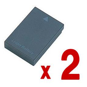 2個セット NP-80 カシオ バッテリー EX-ZS260SR EX-ZS240 など対応 カメラ リチウムイオン 充電池