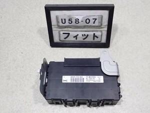 H21年 フィット GE6 前期 純正 ABSコンピューター CPU 38320-TF0-003 中古 即決