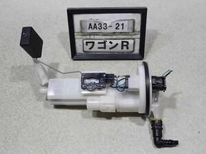 平成26年 ワゴンR MH34S 4WD MT車 前期 純正 燃料ポンプ フューエル R06A 15100-72M11 63257km 中古 即決