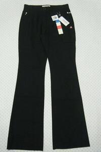 ルコック lecoq ゴルフ用高機能サマーパンツ 黒色 サイズ M/W 63~65㌢ フレアモデル 軽量/吸汗速乾/ストレッチ機能 定価 12,100円