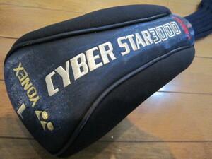 YONEX 1 CYBER STAR 3000 ヨネックス サイバー   ゴルフクラブ ヘッドカバー