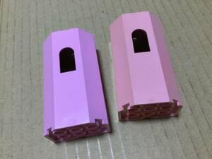 レゴ 大量 kg LEGO ★送料無料★ ピンクのキャッスルパーツ ●AX77