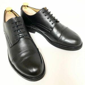 【REGAL】リーガル 24.0cmEEE 黒 ブラック ストレートチップ 外羽 革靴 メンズ 本革 ビジネスシューズ 紳士靴 冠婚葬祭 ビジネス