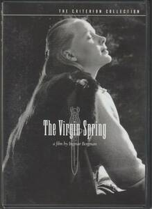 THE VIRGIN SPRING 輸入版DVD(邦題:処女の泉)