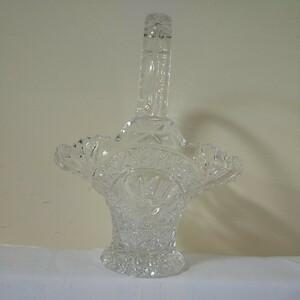 昭和レトロ アンティーク クリスタルガラス カットガラスが綺麗な器