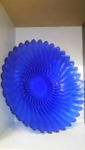 ブルー 大皿  パーティ プレート