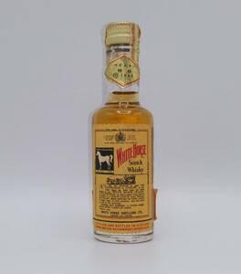 【全国送料無料】特級 WHITE HORSE Scotch Whisky 43度 48ml