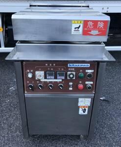 【動作確認済】 北沢産業 鉄板焼機 3相 200V Kitazawa W580×D750×H950mm キャスター付 KOC-4E 中古 厨房機器 業務用