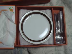恵陶 ケーキセット ケーキ皿 NK-303 4人分セット おまとめ発送 直渡歓迎 長期保管品  未使用