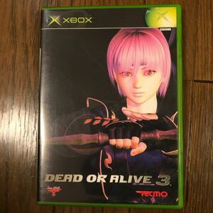 【XBOXソフト】DEAD OR ALIVE3