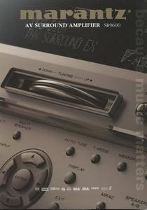 Marantz SR9600 каталог Marantz труба 2264