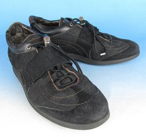 LALKHS8175 Louis Vuitton ルイヴィトン ダミエ アンフィニキャンバス スニーカー 38.5 黒