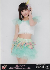 AKB 48 Mariya Suzuki AKB 48 Midsummer's Dome Tour ~ There is still something I have to do ~ Venue raw photo Hiki