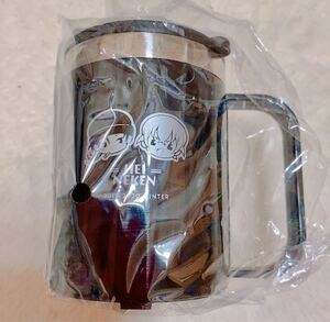 マグカップ ステンレスマグ 赤安 蓋付 ステンレスマグカップ