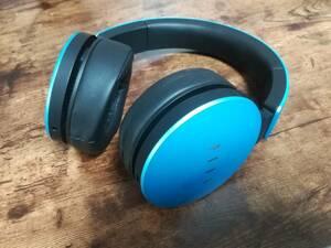 ワイヤレスヘッドホンFIIL Wireless ブルー青Bluetoothノイズキャンセリング●