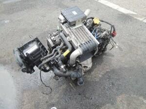 プレオ RA1 エンジン/ミッション  EN07X スーパーチャージャー CVT車 2WD コンピューター付