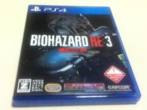 PS4ゲームソフト バイオハザード RE:3 Z VERSION 「クラシックコスチュームパック」 プロダクトコード未使用