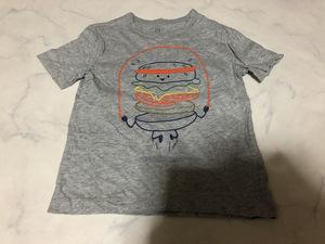 GAP ギャップ ベビー Tシャツ 半袖 グレー系カラー トップス シンプルデザイン 着心地良い 3 90-100cm【アウトレット】Q8