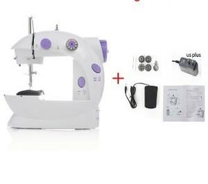 h200 持ち運びしやすい♪ 小型ミシン ミニ ハンドメイド 裁縫 ポータブル 手芸 コンパクト 便利 White