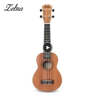 h270 ウクレレ ゼブラスプリング 21インチ 15フレット マホガニー ソプラノ サペリ ローズウッド 4弦 ハワイアンギター 楽器