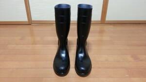自己紹介を御覧ください。ミドリ安全 midori 安全靴 長靴 27cm セーフティー 未使用品
