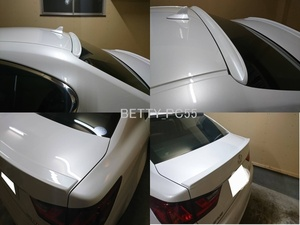塗装込み 2点セット レクサス GS L1#型 GS300 GS250 GS300h GS350 GS450h リアルーフスポイラートランクスポイラー 2013-2019