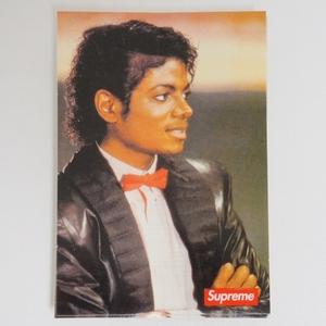 1円スタート Supreme Michael Jackson Sticker!マイケル・ジャクソン ステッカー スモールボックスロゴ 2017SS 新品未使用