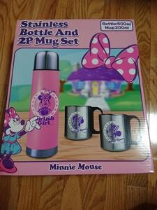 ディズニー ミニー ステンレスボトル&2Pマグセット 水筒