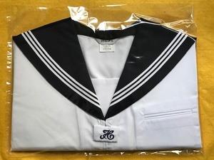 【送料無料】スクールパール 半袖カブリセーラー服 白3本線 185B 新品 夏服