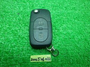 アウディ 純正 スマートキー キーレス 2ボタン 作動確認済み KEY200526031