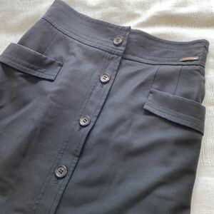 美品◆ダックス DAKS◆タイトロングスカート サイズ38 黒 レディース ボトムス a20052312