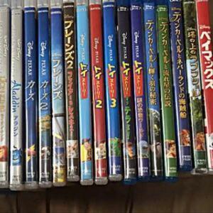新品 ディズニー映画Blu-ray+DVD 16点