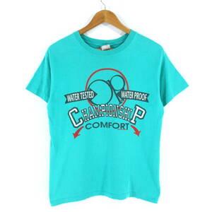 【USA製】90's OCEAN PACIFIC ビンテージ オールドサーフ CHAMPIONSHIP COMPORT Tシャツ XL ターコイズブルー オーシャンパシフィック