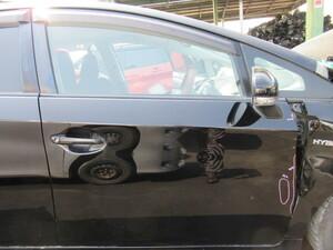(B0423-A) プリウス (ZVW30) 右フロントドア 右前ドア 右F 運転席側 202 ブラック H22年 2010年 DAA-ZVW30 30