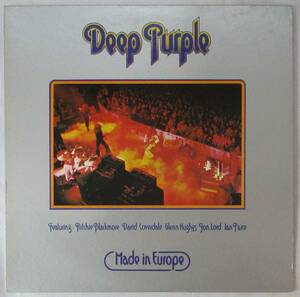 DEEP PURPLE ディープ パープル / MADE IN EUROPE (LP) 国内盤