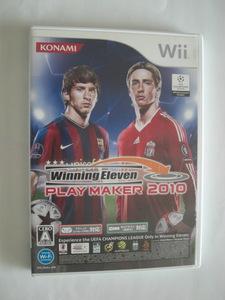 Wii ソフト ウイニングイレブン プレーメーカー2010 ゲーム コナミ