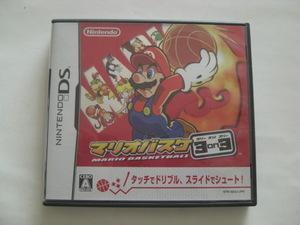 任天堂 DS ソフト マリオバスケ 3on3 ゲーム