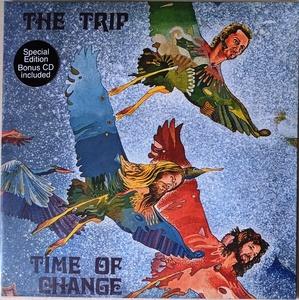 The Trip - Time Of Change CD付限定再発ブルー・カラー・アナログ・レコード