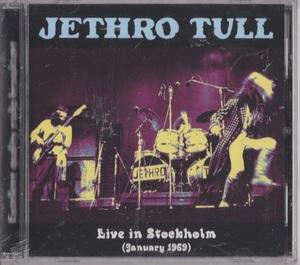 Jethro Tull - Live In Stockholm 1969 ボーナス・トラック2曲収録CD