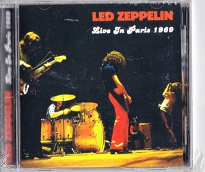 Led Zeppelin - Live In Paris 1969 CD