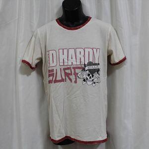 エドハーディー ED HARDY メンズ半袖Tシャツ Mサイズ NO85 新品 LOVE KILLS SLOWLY