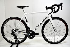 徳山)コルナゴ COLNAGO ブイ1-アール V1-r 2017年 カーボン ロードバイク 520Sサイズ 電動 DURA-ACE 11速 ホワイト