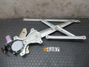 ソニカ L405S 右前 ドアレギュレーター レギュレター パワーウインドウモーター ドアモーター H19年 No.Z4387