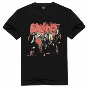 SLIPKNOT バンドTシャツ バンT スリップノット 半袖Tシャツ Tee
