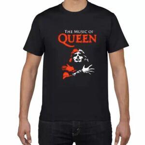 QUEEN Tシャツ Freddie Mercury バンドTシャツ バンT クイーン フレディマーキュリー 半袖Tシャツ Vol.9
