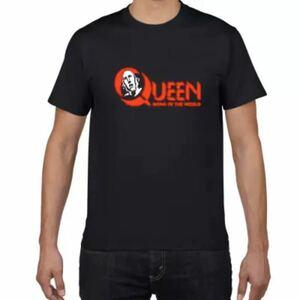 QUEEN Tシャツ バンドTシャツ バンT クイーン ROCK ロック半袖Tシャツ Vol.5
