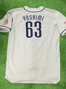 埼玉西武ライオンズ63 吉見太一 '09シーズン実使用ユニフォーム