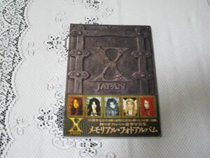 ☆X-JAPAN メモリアル・フォト・アルバム・1994年ファイナルカウントダウン(TOKYO DOME)本のみ・中古未読