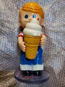 【非売品】 ニックン セイチャン 日世 ソフビ フィギュア 企業 カウンター 人形 ソフトクリーム