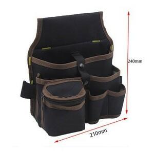 s108 大容量ウエスト道具袋 ウエストポケット 電気技師ツールバッグ キャリングポーチツール ウエストポーチ 便利な道具袋